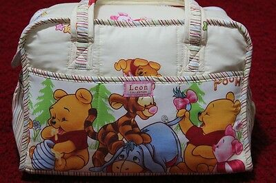 Brand New Baby Winnie The Pooh Nappy/Maternity Bags Large Size
