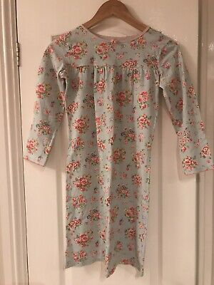 Cath Kidston Floral Long Sleeved Nightdress Nightie Age 9-10 Years Hardly Worn