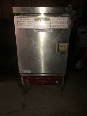 Southbend Simple Steam EZ5 11kw 8 Wire 1/3 P 208V 60cyc 57/33A Works