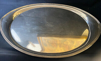 Massive Tiffany & Co Makers Heavy Sterling Silver 925 Tray Platter 135 OZT