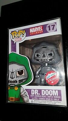 Funko Pop Marvel Dr Doom B&W