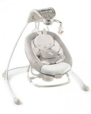 Ingenuity InLighten Cradling Swing & Rocker