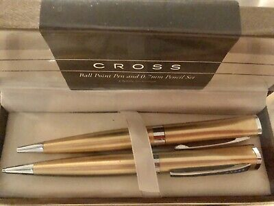 Cross Century Colors Pearlescent Gold Dust White /& Jewelry-quality Band Ball Pen