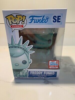funko pop freddy funko statue of liberty
