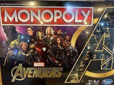 Monopoly: Marvel Avengers Edition Board Game. SPECIAL COLLECTORS EDITION NEW