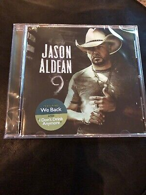 JASON ALDEAN - 9 Album CD - BRAND NEW SEALED  Ships Within 24 Hours