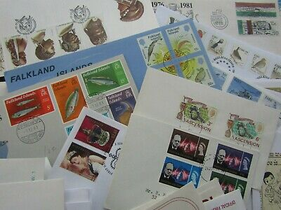 BOX CONTAINING 300+ BRITISH COMMONWEALTH 1st DAY COVERS - FINE & ILLUSTRATED