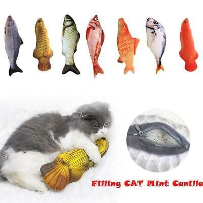 7 Pack Realistic Interactive Fish Cat Kicker Crazy Pet Toy Gift Toys Catnip