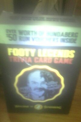 bundaberg rum footy legends cards ( a full pack)