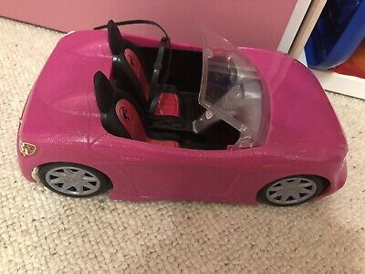 Barbie Convertible Sports Car With Seat Belts Pink Kids Toy Vintage