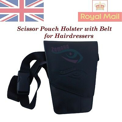 Hairdressing Barber`s Scissor Holster Holder Pouch Bag Cases Wallet Safe Saloon