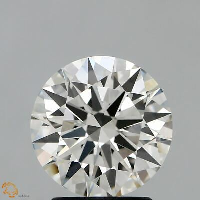 0.60Ct Cvd Diamant Rond Coupe Labo Grown Desseré Diamant Couleur E VS1 Clarté
