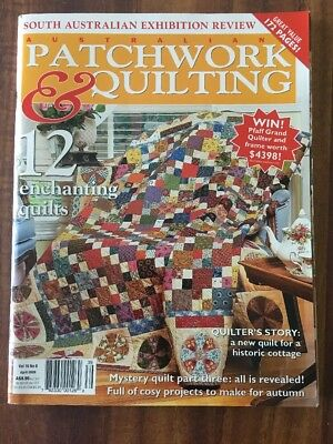 Australian Patchwork and Quilting Vol 16 No 8 - April 2008