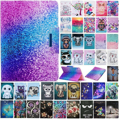 AU For iPad 7th Gen 5th 6th Generation Painted Magnetic Smart Case Stand Cover