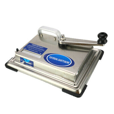 Stainless Steel Hand-cranked Tobacco Rolling Machine Cigarette Maker Roller