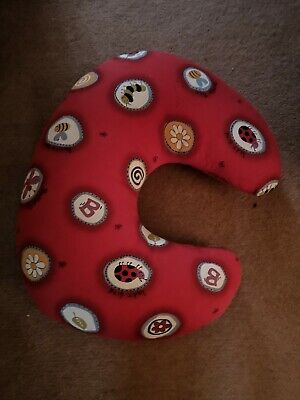 PHP Widgey Nursing Breastfeeding Support Pillow Red Bumble Bee/Lady bird