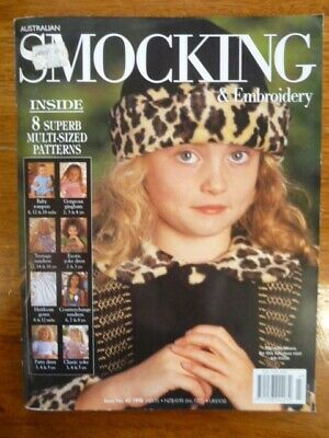 Australian Smocking & Embroidery Magazine Issue 43 - 1998