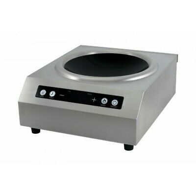 Mount Plate Wok with Induction TT500W Touch Wok - 5000W