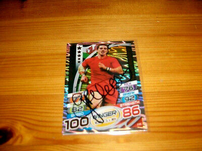 2015 Rugby Attax   #236. George North  (Wales)  HUNDRED CLUB    signiert