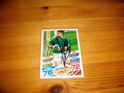 2015 Rugby Attax   #72. Conor Murray  (Ireland)    signiert