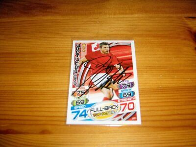 2015 Rugby Attax   #165. James Pritchard  ( Canada )   signiert