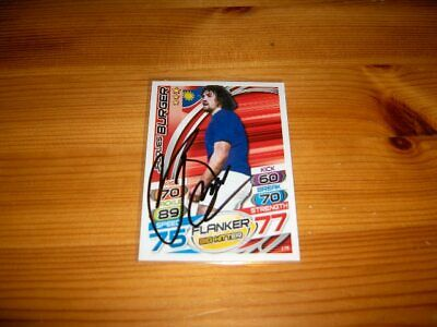 2015 Rugby Attax   #178. Jacoues Burger  ( Namibia )   signiert