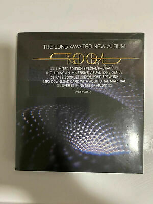 """TOOL Fear Inoculum Limited Edition Special Package CD 4"""" HD Screen"""
