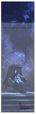 """Star Wars ~ A Master of Evil by Brent Woodside Lithograph Art Print 36""""h x 11""""w"""