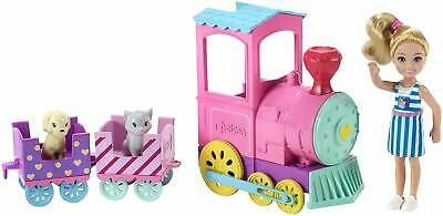 New Barbie FRL86 Family Chelsea Choo Train & Doll Colourful Accessories Playset