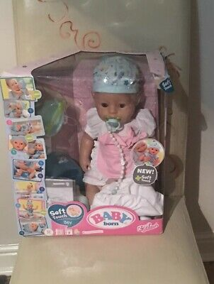 Baby Born - Soft Touch Boy, Interactive Doll, Zapf Creation, Used/Boxed