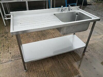 Catering sink unit stainless steel 1500mm
