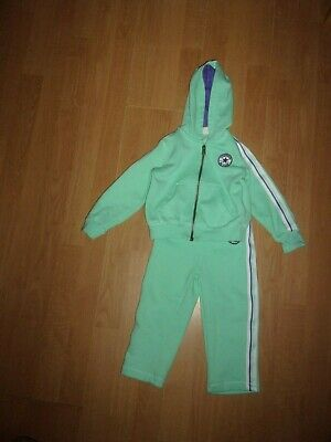 Converse All Star CT Mint Green & Purple girls tracksuit age 2 years