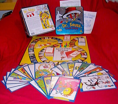 Collectible Dr. Seuss's Trivia Game – Great Art University Games; 100% complete