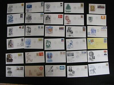 Lot Of 500 Different First Day Covers Free Us Shipping Fdc Stamp Collection