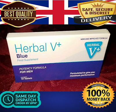 20 X100Mg Blue Sex Tablets For Men. Strongest Available! Money Back Guarantee