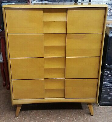Heywood-Wakefield Mid Century Highboy Dresser from the Trophy Collection