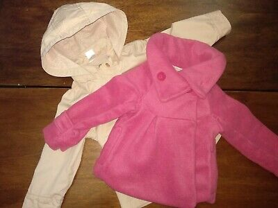 Two Beautiful Girls Jackets from NEXT and H&M 12-18 mths