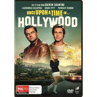 Once Upon A Time In Hollywood (DVD, 2019)