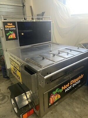 food trailer  Business American Hotdog Cart ( LOWEST PRICE MUST SELL )