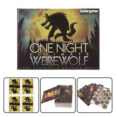 1 set One Night Ultimate Werewolf Board Game Playing Cards Gifts Party Toys