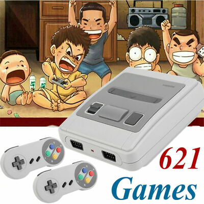 HDMI SUPER Classic Edition Console Mini SFC Retro 621 Games Built-in Console USA