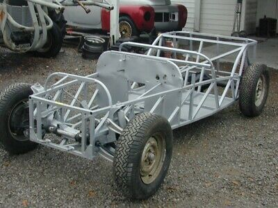 Vintage Lotus 7 style roadster chassis