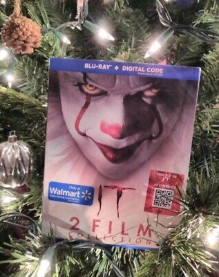 Stephen King's IT Chapter One & Two WALMART BLU-RAY ONLY 2-Film Collection
