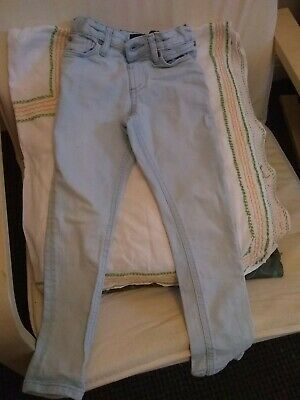 River Island Skinny Jeans for Girl Age 5 Years Excellent Condition Light Blue D