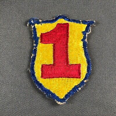 ROK South Korean Army 1st Infantry Division SSI Patch Fully Embroidered 905L