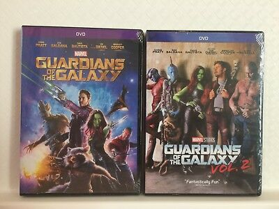 Guardians of the Galaxy Vol. 1 & Vol. 2 DVD (Free USPS First Class Shipping)