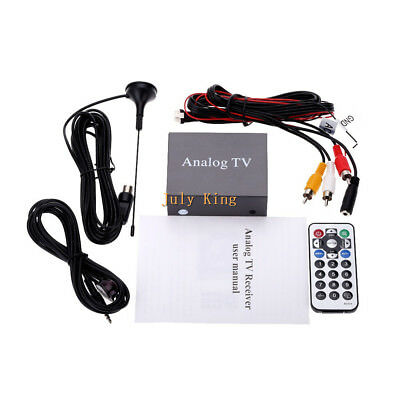 Car Mobile Analog TV Receiver Car Automobile Analong TV Box 9224 Hot Style