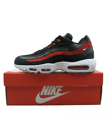 New Nike Air Max 95 Black Red Ice Men's Size 10.5-11 Running Sneakers 749766-039