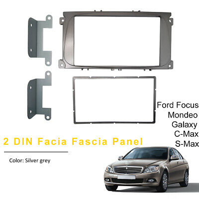 Autoleads FP-07-12//S Ford Focus Mondeo 07/> Car Stereo Single Din Fascia Panel
