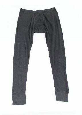 Alfani Mens Underwear Charcoal Gray Size 2XL Thermal Pull-On Long Johns 302